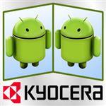 www.mobile.patoghu.com | معرفی کیوسرا اکو   یک گوشی اندرویدی با دو صفحه نمایش لمسی
